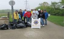 Click on this photo to learn more about the annual all volunteer cleanup and Lions Clubs.